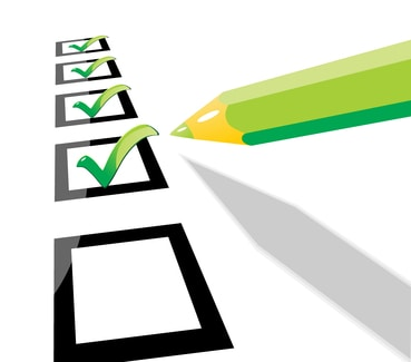 Creating Checklists to be Better Prepared