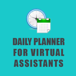 Digital Planner for Virtual Assistants