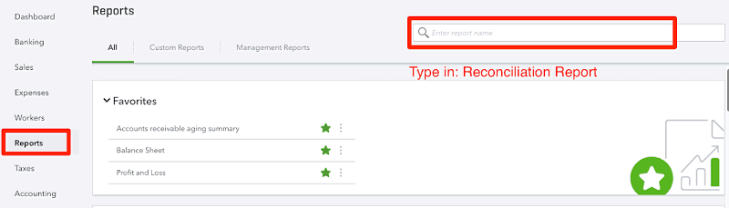 Where To Find QuickBooks Reconciliation Reports